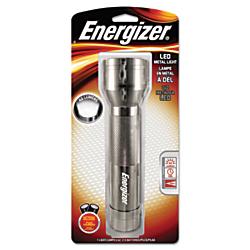Energizer(R) LED Flashlight, 8 1/3in. x 2 1/5in., Silver