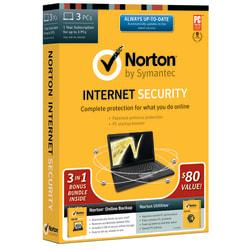 Norton Internet Security(TM) 21.0 1-Year Subscription With Norton Online Backup/Norton Utilities, For 3 PCs, Traditional Disc