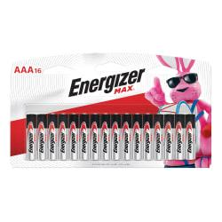 FREE Energizer(R) Max(R) Alkaline AAA Batteries, Pack Of 16