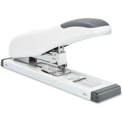 Rapesco HD-100 ECO Heavy Duty Stapler - 100 Sheets Capacity - Made from Recycled Material - Full Strip - 24/8mm, 24/6mm, 923/6-13mm Staple Size - White