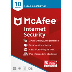 McAfee(R) Internet Security, For 10 Devices, For PC/Mac, Download