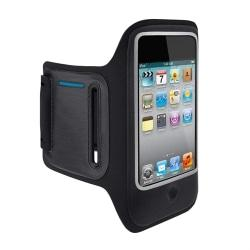 Belkin DualFit F8Z674TT Carrying Case (Armband) for iPod - Black