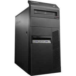 Lenovo ThinkCentre M83 10AL000SUS Desktop Computer - Intel Core i7 i7-4770 3.40 GHz - Mini-tower - Business Black