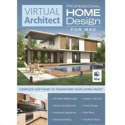 Virtual Architect Home Design for Mac Professional, Download Version