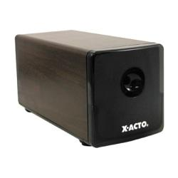 Electric Pencil Sharpener, 3-1/2in.Wx8-1/8in.Dx4in.H, Walnut Grain