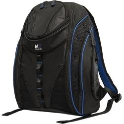 Mobile Edge Express Carrying Case (Backpack) for 17in. MacBook, Books, Notebook, Accessories, Cellular Phone, File, Digital Audio Player - Black, Royal Blue–Office Depot-Cash Back