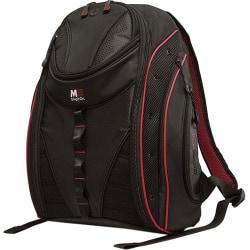 Mobile Edge Express Carrying Case (Backpack) for 17in. MacBook - Black, Red