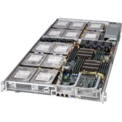 Supermicro SuperServer 6017R-72HDP+ Barebone System - 1U Rack-mountable - Intel C602 Chipset - Socket R LGA-2011 - 2 x Processor Support - Black