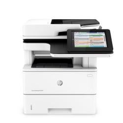 HP LaserJet M527dn Monochrome All-In-One Printer, Copier, Scanner