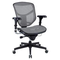 workpro r 3000 series ergonomic custom fit fabric mid back chair black black price tracking. Black Bedroom Furniture Sets. Home Design Ideas