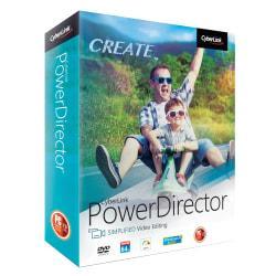 Cyberlink PowerDirector Easy Video Editing 2018, Traditional Disc