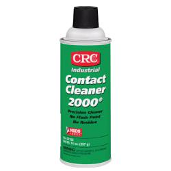 CRC Contact Cleaner 2000(R) Precision Cleaner, Tapered Cap, 13 Oz, Pack Of 12 Cans