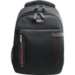 ECO STYLE Carrying Case (Backpack) for 16.4in. Notebook - Red, Black