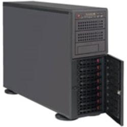 Supermicro SuperWorkstation 7047R-TRF Barebone System - 4U Tower - Intel C602 Chipset - Socket R LGA-2011 - 2 x Processor Support - Black
