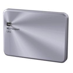 WD My Passport(R) Ultra Metal Edition 1TB External USB 3.0 Hard Drive, Silver