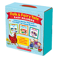 Scholastic Folk Fairy Tale Easy Readers Parent Pack