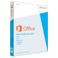 Microsoft(R) Office Home And Business 2013, Spanish Version, Product Key