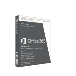 Microsoft(R) Office 365(TM) University, Spanish Version, 4-Year Academic Subscription, Product Key