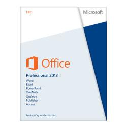 Microsoft(R) Office Professional 2013, English Version, Product Key