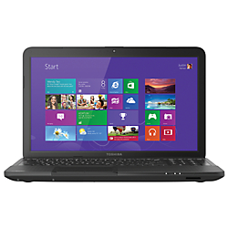 Toshiba Satellite C855D-S5340 Laptop Computer With 15.6in. Screen AMD E1 Accelerated Processor