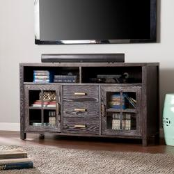Southern Enterprises Kenwick Media Console For 46in. Flat-Screen TVs, Antique Bronze/Dark Gray