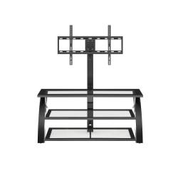 Whalen Camarillo 3 In 1 TV Stand For Flat-Panel TVs, 50in.W, Black/Espresso