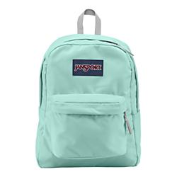 JanSport SuperBreak Backpack, 1,550 Cu In, Aqua Dash