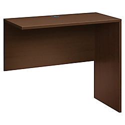 HON 10500 Series Standing Height Return Shell - 48in. x 24in. x 42in. - Square Edge - Finish: Mocha, Thermofused Laminate (TFL)