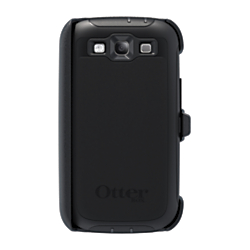 Otterbox Defender Series Phone Case/Holster For Samsung Galaxy S III, Black