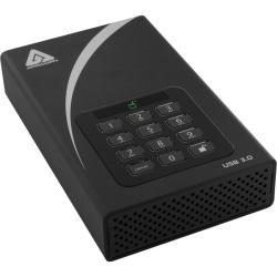 Apricorn Aegis Padlock ADT-3PL256-2000 2 TB Hard Drive - 3.5in. Drive - External