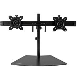 StarTech.com Dual Monitor Stand - Crossbar - Supports Monitors up to 24in. - Vesa Mount - Adjustable Computer Monitor Arm