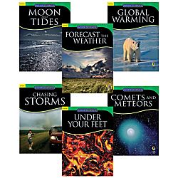Creative Teaching Press Inside Science, Earth And Space Science Variety Pack