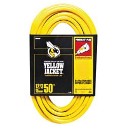 Woods Yellow Jacket Indoor/Outdoor Extension Cord, 50ft.