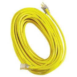 Woods Yellow Jacket Indoor/Outdoor Extension Cord, 100ft.