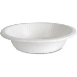 Dixie Basic 12-oz Paper Bowls - 125 / Pack - 12 fl oz Bowl - Paper Bowl - Microwave Safe - 1000 Piece(s) / Carton
