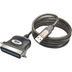 Tripp Lite 10ft USB to Parallel Printer Cable USB-A to Centronics 36-M/M