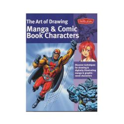 Walter Foster The Art Of Drawing Manga And Comic Book Characters By Bob Berry Jeannie Lee