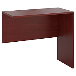 HON 10500 Series Standing Height Return Shell - 48in. x 24in. x 42in. - Square Edge - Finish: Mahogany, Thermofused Laminate (TFL)