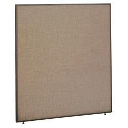 Bush ProPanel(TM) System Privacy Panel, 66 7/8in.H x 60in.W x1 3/4in.D, Taupe/Tan, Standard Delivery Service