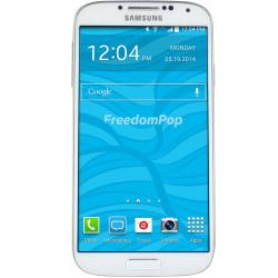 FreedomPop Refurbished Samsung Galaxy S4 Cell Phone, White