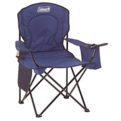 Coleman(R) Quad Chair with Cooler, Blue