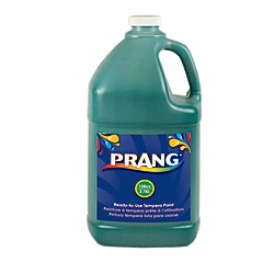 Prang(R) Ready-To-Use Tempera Paint, 128 Oz, Green
