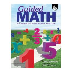 Shell Education Guided Math Book, Pre-K to Grade 3