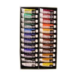 Liquitex Basics Value Series Acrylic Colors, 0.74 Oz, Assorted Colors, Set Of 24