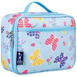 Wildkin Polyester Lunch Box, 9 3/4in.H x 7in.W x 3 1/4in.D, Butterfly Garden By Olive Kids
