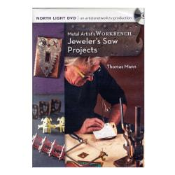 North Light Metal Artist's Workbench Book Series, Jeweler's Saw Projects By Thomas Mann