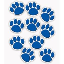 Teacher Created Resources Decorative Accents, Paw Prints, Blue, Pre-K - Grade 8, Pack Of 30