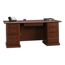 Sauder(R) Heritage Hill Executive Desk, 29 3/4in.H x 70 1/2in.W x 35 1/2in.D, Classic Cherry