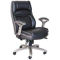 Serta Smart Layers Verona Manager Chair Ivory Champagne