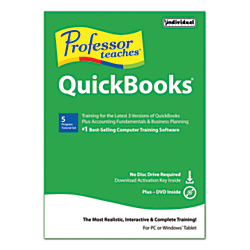 Cheap Offer Individual Software (R) Professor Teaches (R) Quickbooks (R) 2015, For 1 PC, 1-Year Subscription, Traditional Disc Before Special Offer Ends